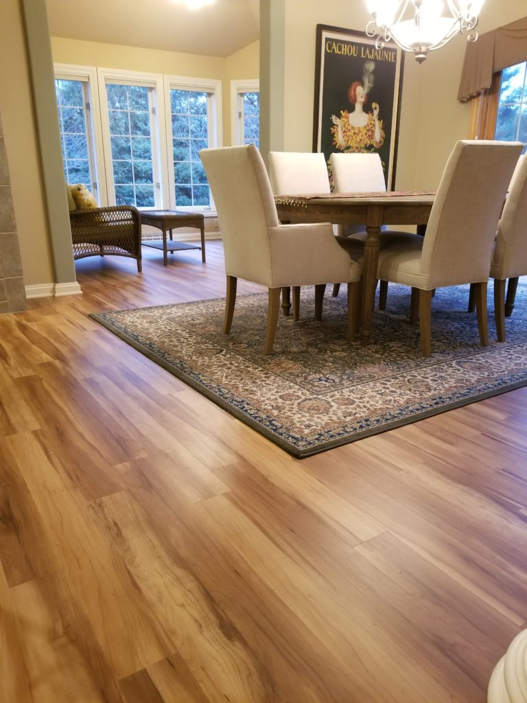 luxury vinyl plank brookfield